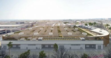 World's Largest Rooftop Urban Farm is Set to Open in Paris Next Year