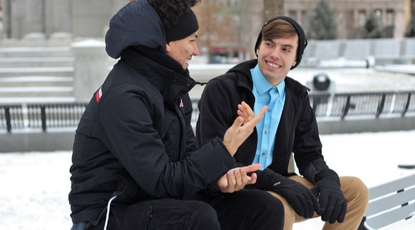 Man Helps Humanity By Having Hour-Long Talks With Strangers